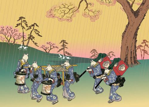 Kitsune-wedding