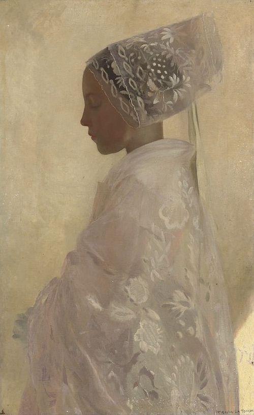 Maiden in White