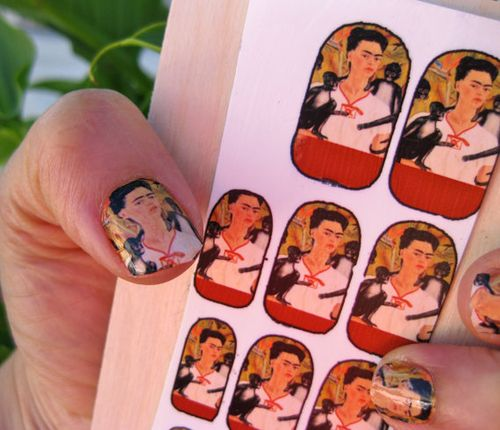 Frieda Nail decals
